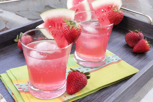 Strawberry Watermelon Refresher