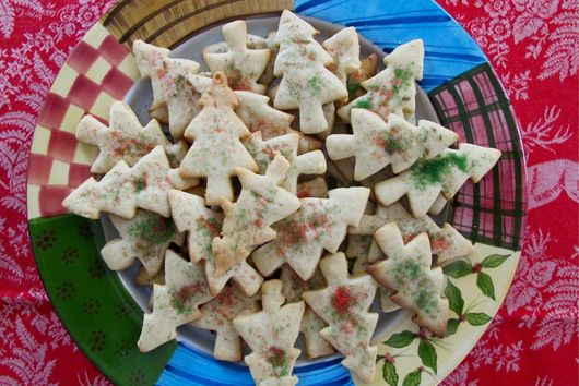 Double Vanilla Holiday Cut-Out Cookies