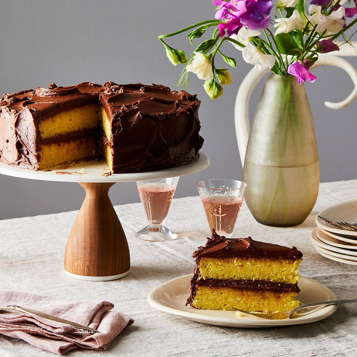 How To Make A Box Cake Taste Like A Wedding Cake.The Best Yellow Cake Borrows A Trick From The Box