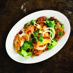 Andy Ricker's Yam Khai Dao (Fried Egg Salad)