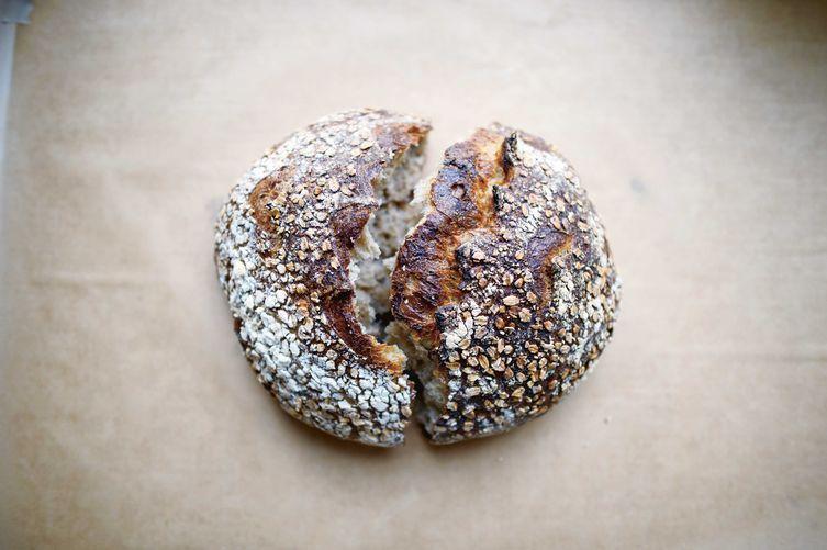 Chad Robertson's Oat Porridge Bread