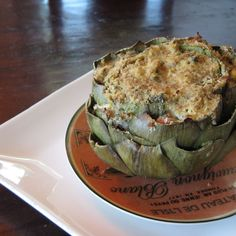 Crab Stuffed Artichokes