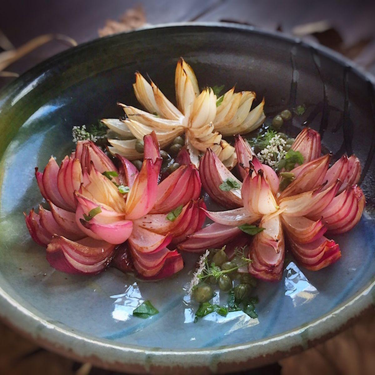 Roasted lotus flower onions recipe on food52 izmirmasajfo
