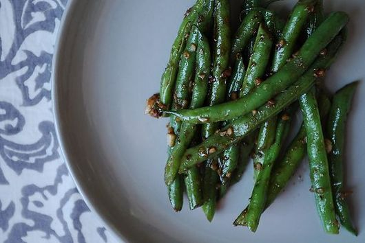 Asian Garlic Green Beans