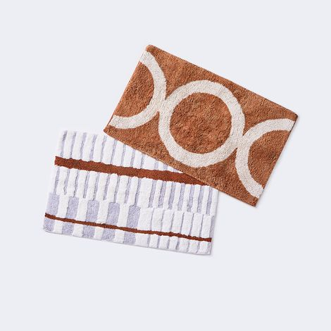 Modern Abstract Bath Mat