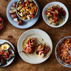 5 Ready-in-a-Flash Dinners, All From 1 Base Recipe
