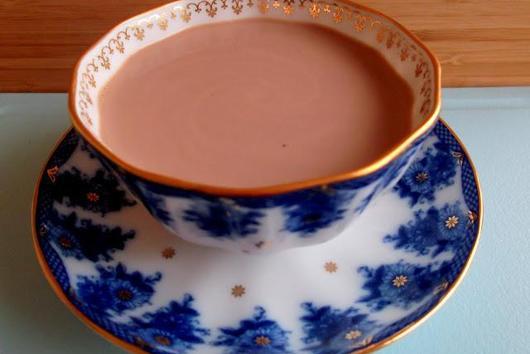 Tea Spiced Hot Chocolate