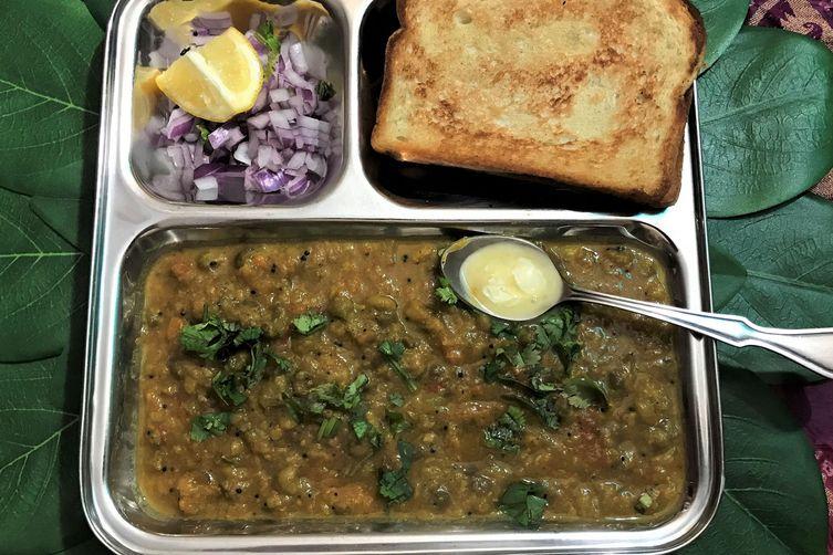 Vegan Pav-Bhaji