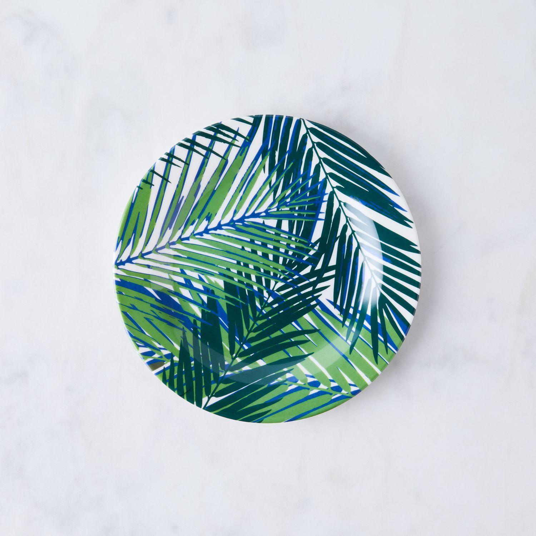 Palm Leaf Melamine Plates (Set Of 4) On Food52