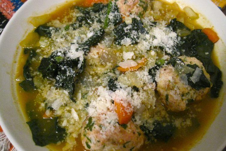 Italian Wedding Soup With Turkey Meatballs Recipe On Food52