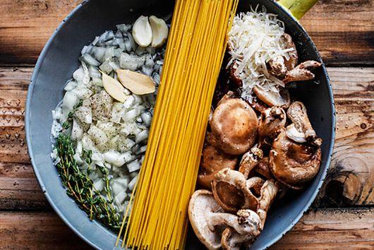 One Pot Mushroom Pasta