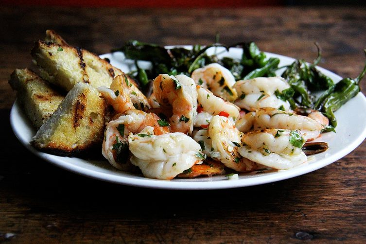 Chimichurri Shrimp