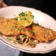 Joe Beef's Schnitzel of Pork