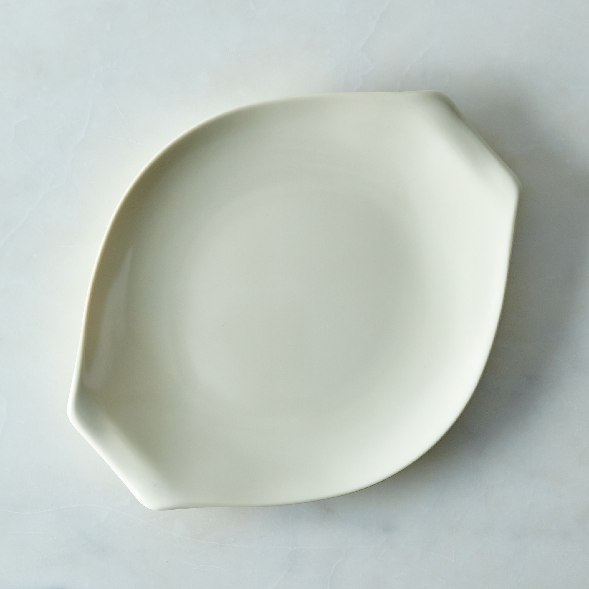 Russel Wright Melamine Dinnerware & Serveware Bone, Large Serving Platter