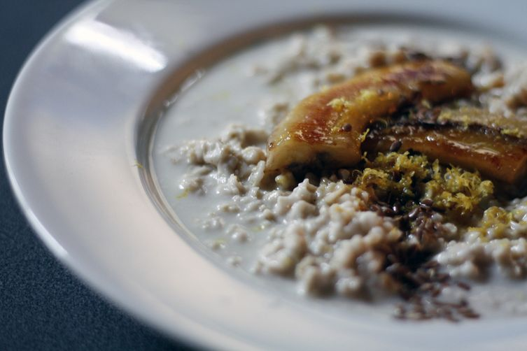 Caramelised Banana Oatmeal