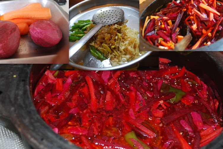 Carrot Beet pickle