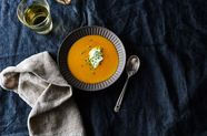 Hot-Honey Butternut Squash Soup