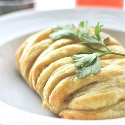Savory Greek Breakfast Strudels