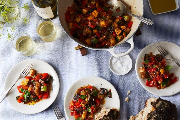 Tamarind-Infused Ratatouille