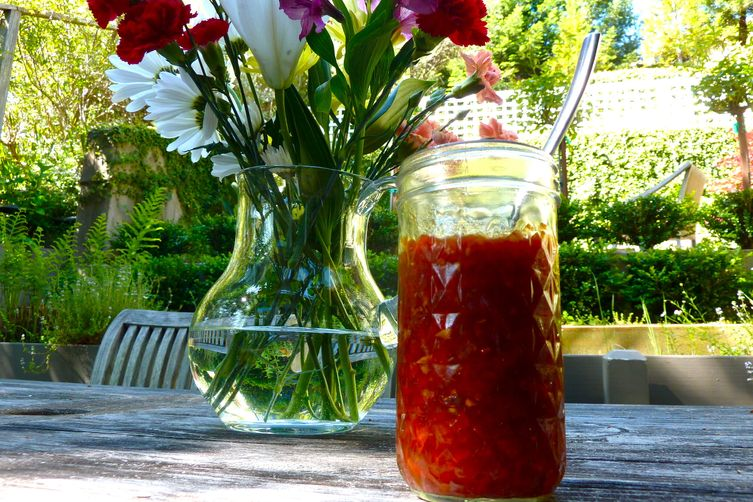 Red Pepper Jam!