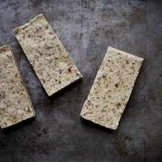 No-Bake Toasted Coconut, Date, and Nut Bars