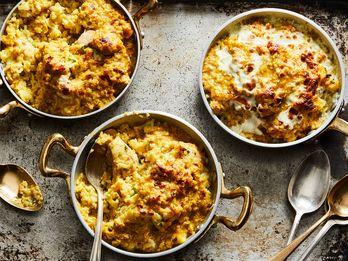 There's Fried Rice, And There's Cheesy Coconut Curry Fried Rice