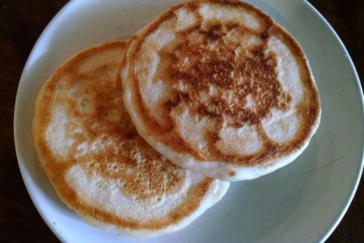small batch sourdough pancakes