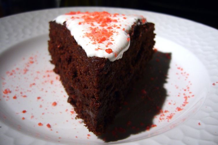 Sympathy for the Devil's Food Cake