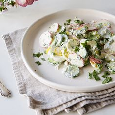 A Spring Version of Summery Potato Salad—Sans Potatoes