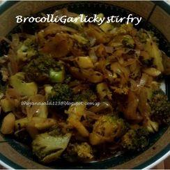 Brocolli Garlic stir fry