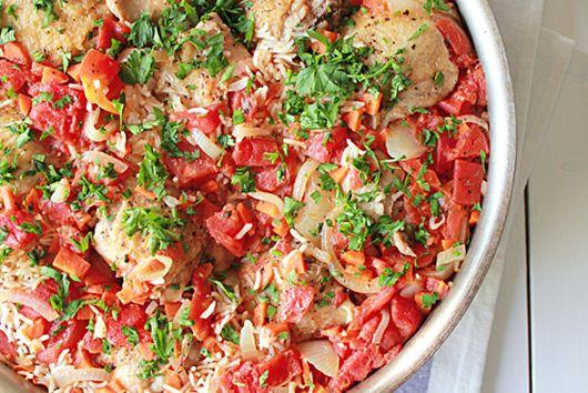 One pot chicken paella
