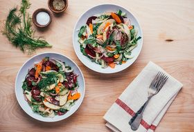 How We Made a Sara Forte-Inspired, Impromptu Salad for Lunch