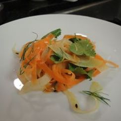 Spiced Carrot Fennel Tangle