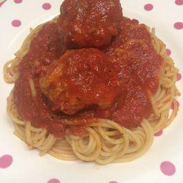 Grandma Scalise's Spaghetti & Meatballs