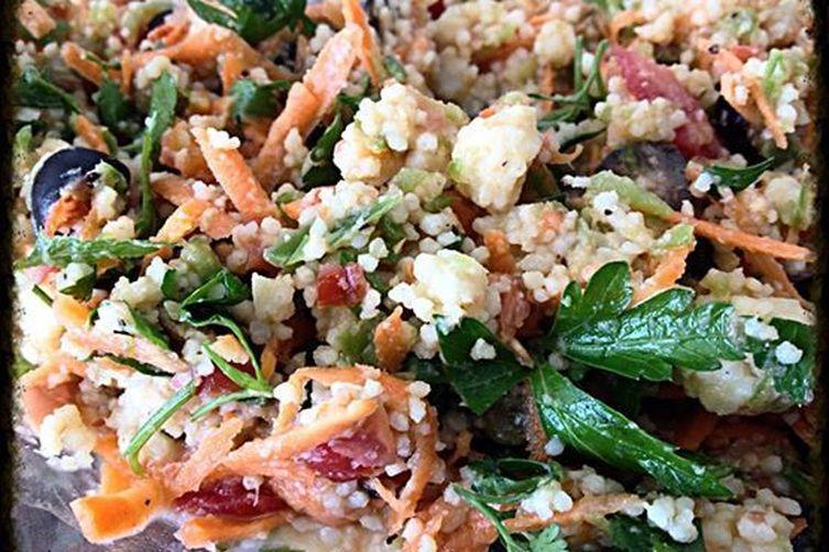 Little Heaven in Millet & Parsley Salad