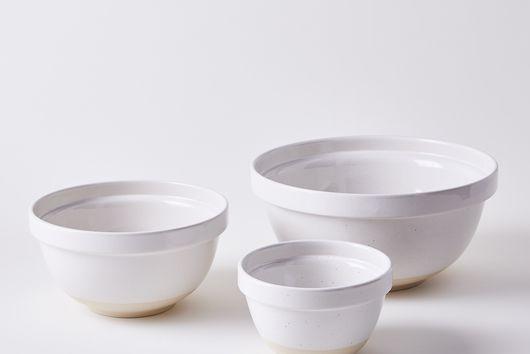 Ceramic Mixing Bowls, Set of 3