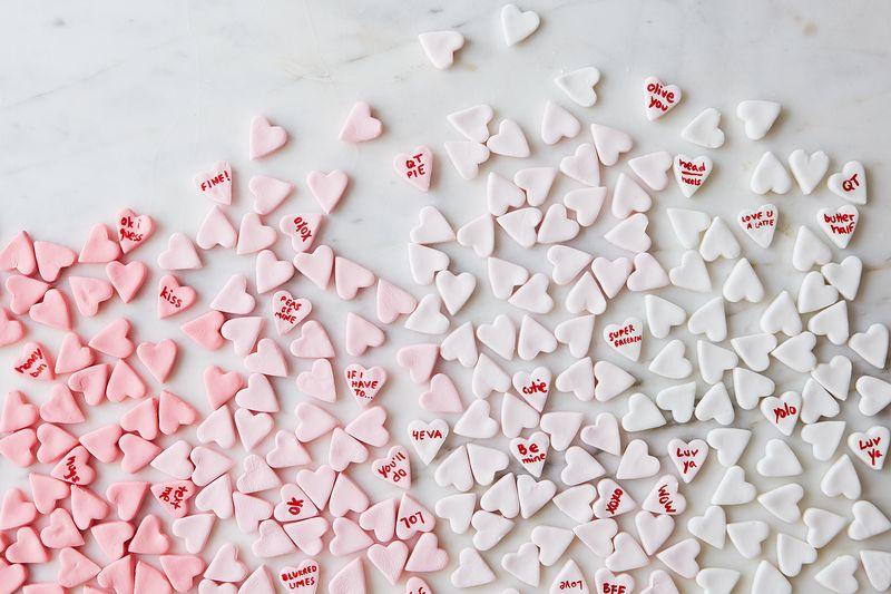 How to Make Homemade Conversation Hearts