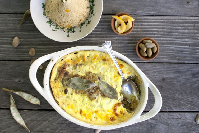 Bobotie - South African Spiced Meat Pie