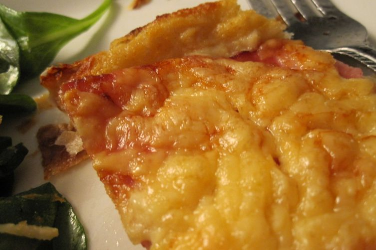 Croque Monsieur Tart