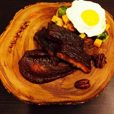 Berbere Spiced Pork Ribs with Vegetable Hash