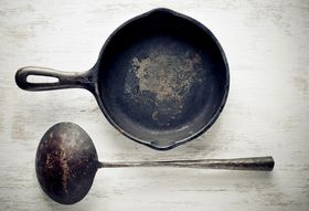 Deadly Sins of Cast Iron Skillet Care