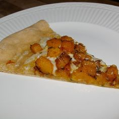 Caramelized Butternut Squash Pizza