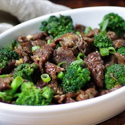 Easy Paleo Beef with Broccoli
