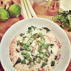 Thai Chicken Coconut Soup