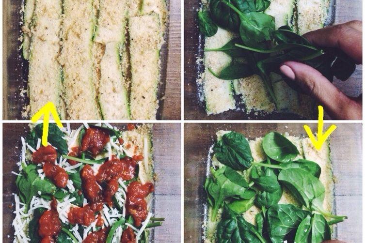 Zucchini-Spinach Lasagna