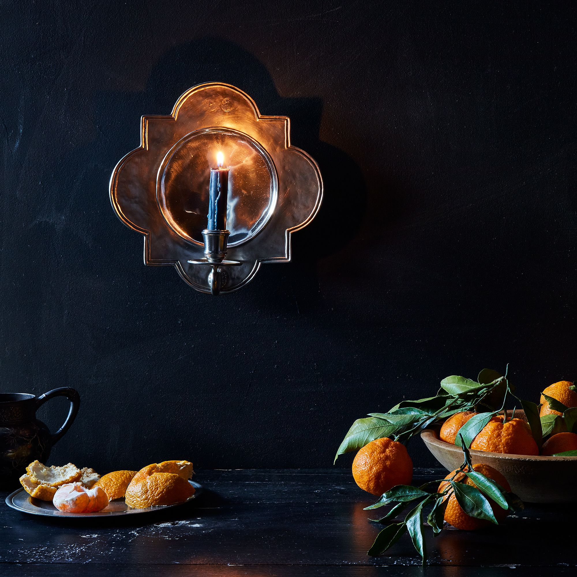 Quatrefoil Pewter Wall Sconce On Food52