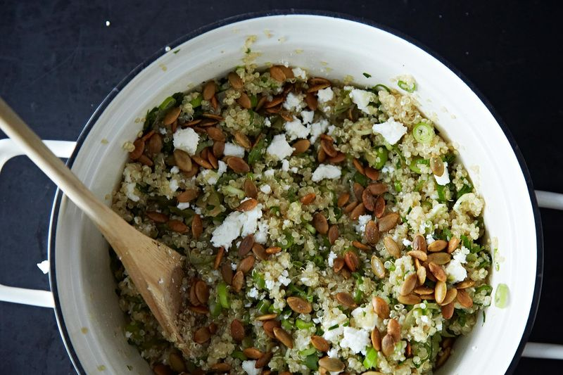 Yeah, you can make quinoa salad without a recipe—but do you want to?