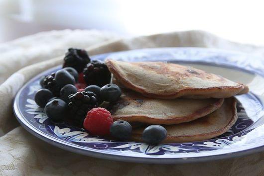 "Bourbon Street ""Bluesberry"" Pancakes"