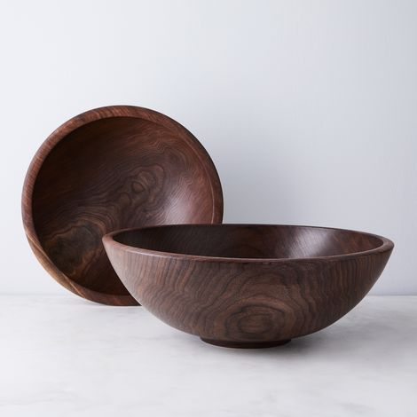 Handcrafted Walnut Champlain Bowl