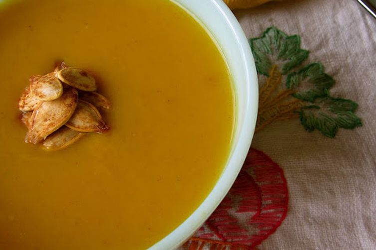 Curried Butternut-Coconut Bisque